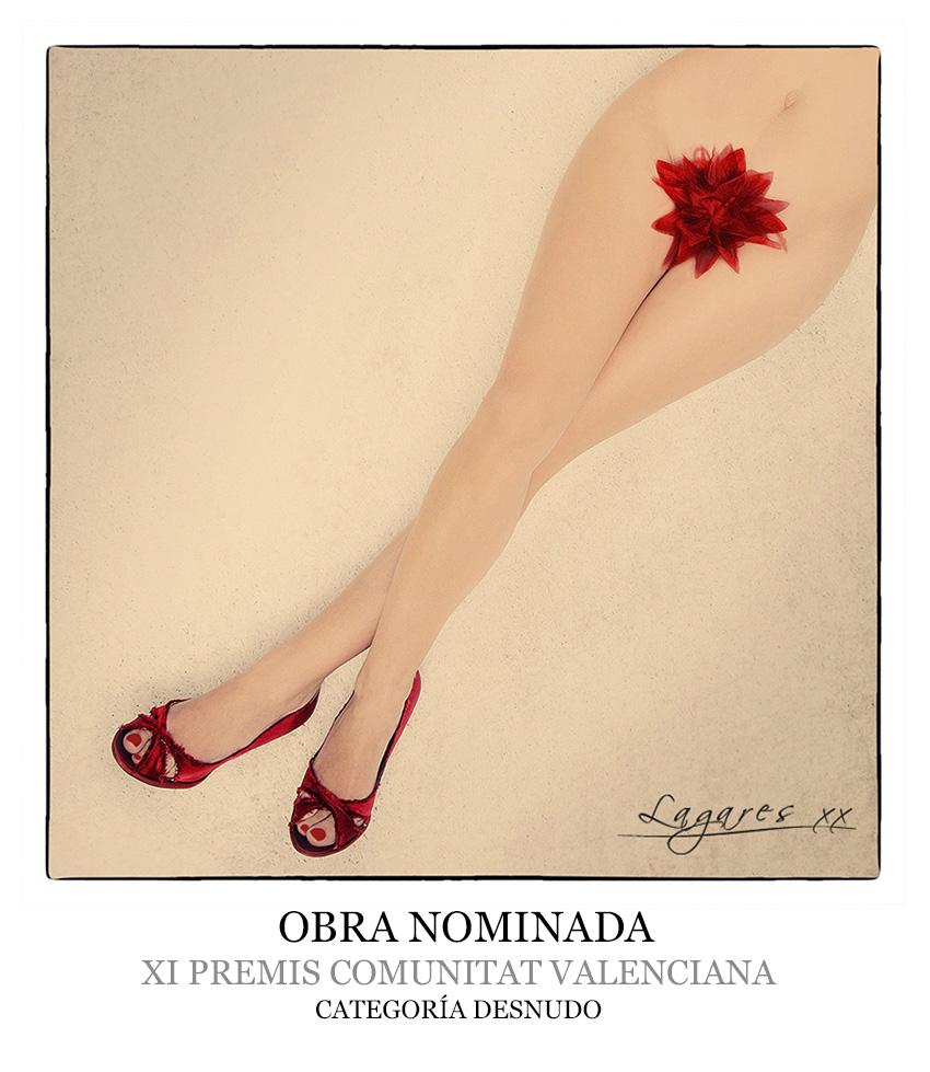 Fotografía de José Luis Lagares nominada a los XI premis comunitat valenciana en la categoria de desnudo